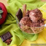 Шоколадное мороженое без яиц на сливочном творожном сыре