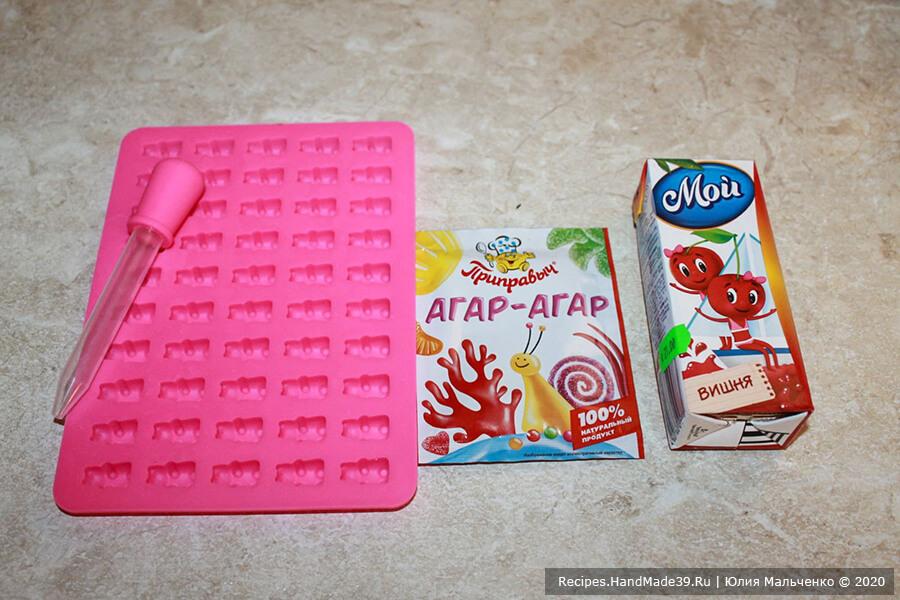 Желейные конфеты – фото шаг 1