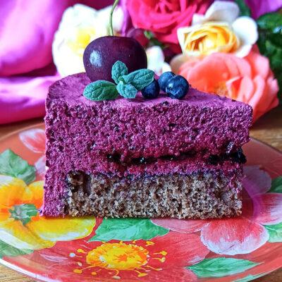Торт с зефирным муссом – пошаговый кулинарный рецепт с фото