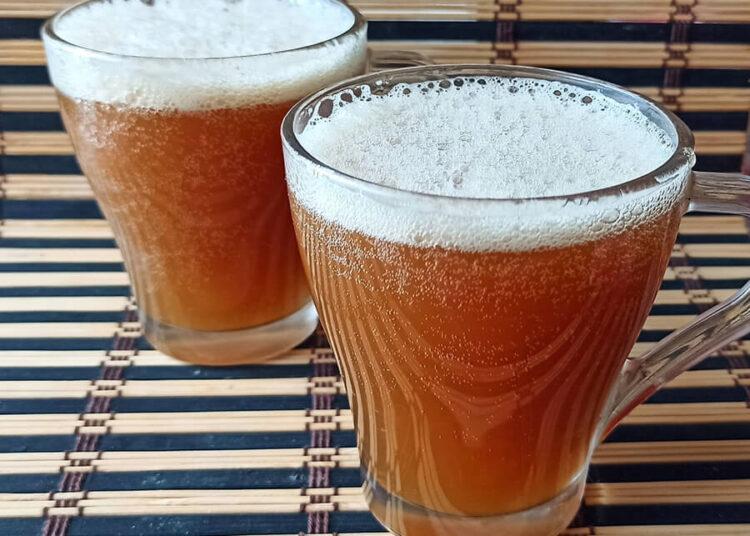 Мятный квас с растворимым цикорием – пошаговый рецепт с фото