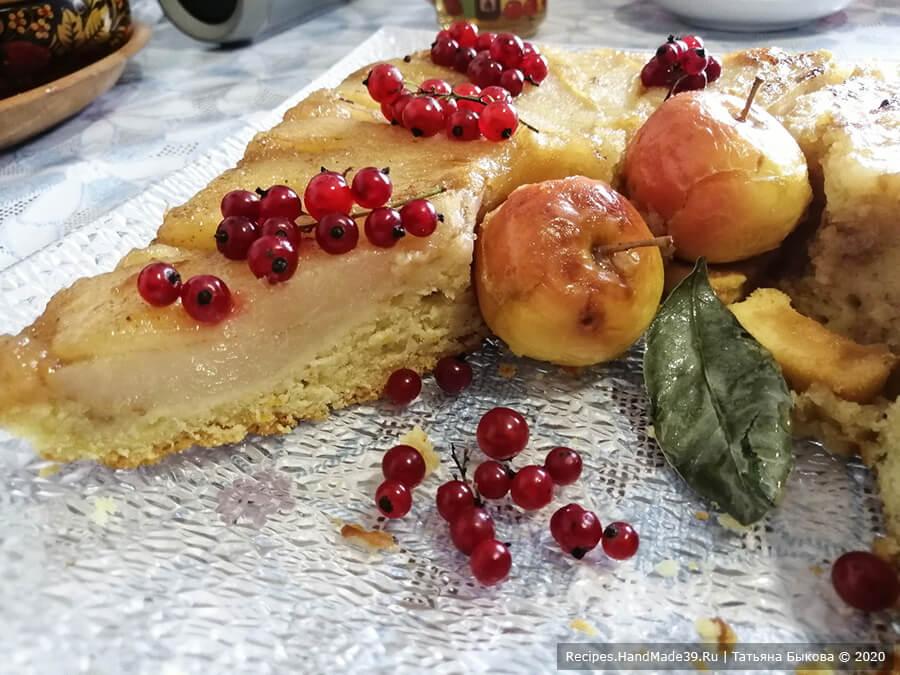 Пирог с рикоттой – фото шаг 14. Грушевый рикотник – отличный пирог к чаю!
