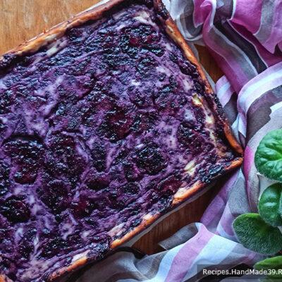 Простой пирог с творогом – пошаговый кулинарный рецепт с фото