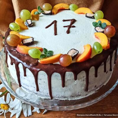 Бисквитный торт с конфи – пошаговый кулинарный рецепт с фото
