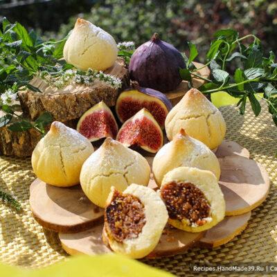 Печенье с инжиром – пошаговый кулинарный рецепт с фото