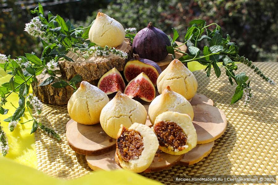 Песочное печенье с инжиром «Инжир»
