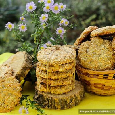 Овсяное печенье – пошаговый кулинарный рецепт с фото