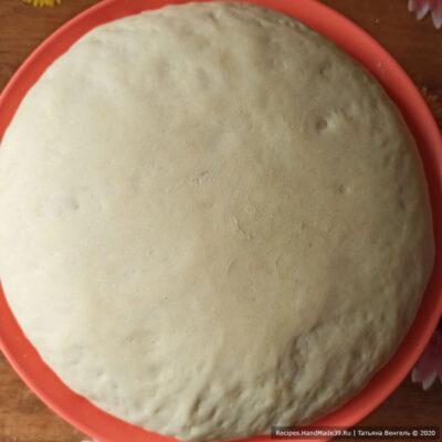 Булочки-пиццы – фото шаг 6. Оставить на подход на 1 час