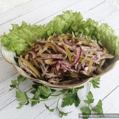 Салат «Шахтёрский» – пошаговый кулинарный рецепт с фото