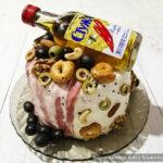 Как сделать несладкий мужской торт Шадлав – мастер-класс