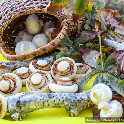 Печенье «Шампиньоны» – пошаговый кулинарный рецепт с фото