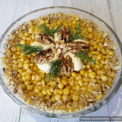 Салат с курицей и ананасами – пошаговый кулинарный рецепт с фото