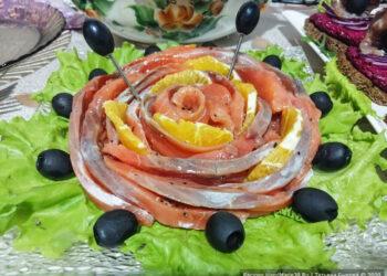 Слабосолёный лосось с апельсином – пошаговый рецепт с фото