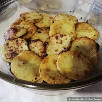 Маклюбе – фото шаг 12. Затем выложить помидоры, баклажаны, картофель (1/2 часть)