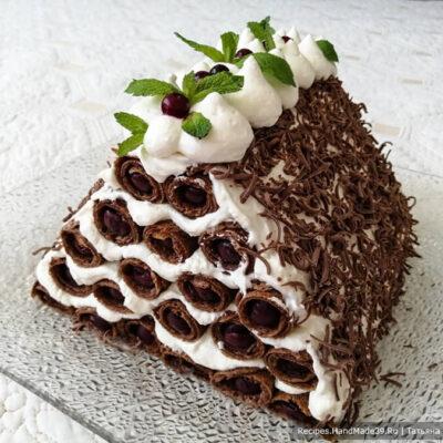 Блинный торт «Монастырская изба» – пошаговый кулинарный рецепт с фото