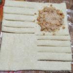 Печенье с арахисовой начинкой – фото шаг 7. Выложить начинку