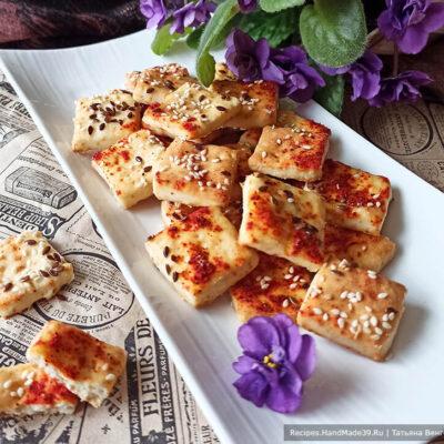 Печенье крекер – пошаговый кулинарный рецепт с фото