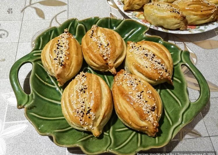 Красивая самса с мясом – пошаговый кулинарный рецепт с фото