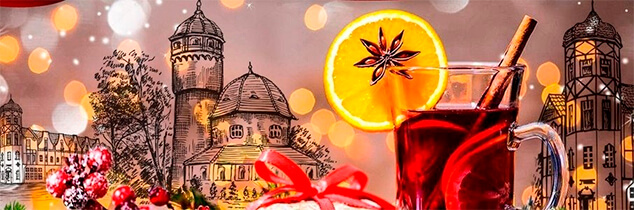 Фестиваль зимних напитков в «Янтарь-холле»