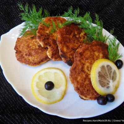 Рыбные оладьи – пошаговый кулинарный рецепт с фото