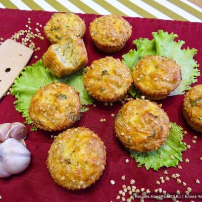 Кексы из зелёной гречки – пошаговый кулинарный рецепт с фото