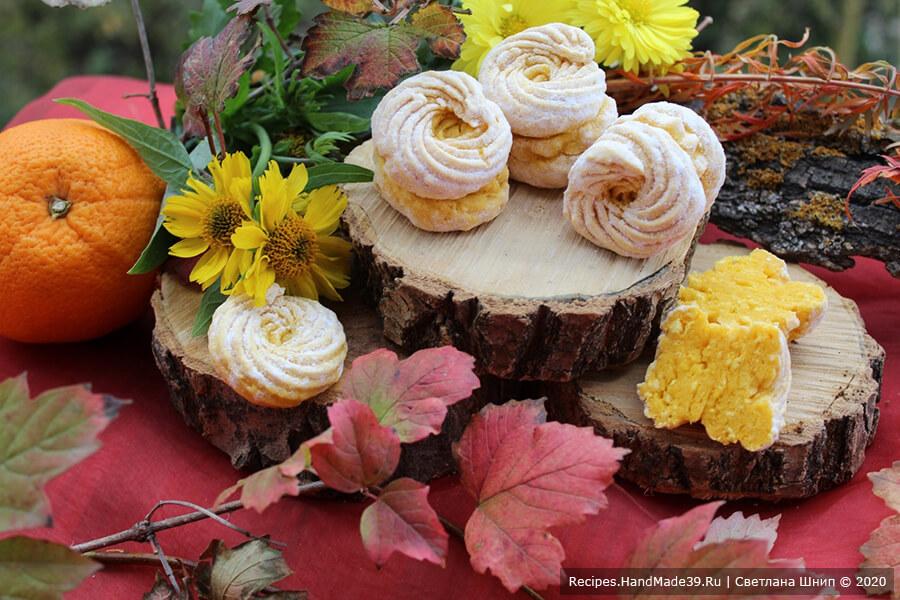 Зефир из тыквы – фото шаг 9. Тыквенный зефир – вкусный и полезный десерт. Приятного аппетита!