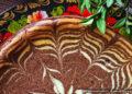Запеканка «Зебра» – пошаговый кулинарный рецепт с фото