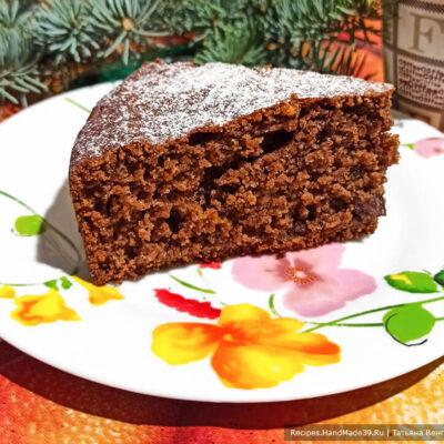 Шоколадно-творожный манник – пошаговый кулинарный рецепт с фото