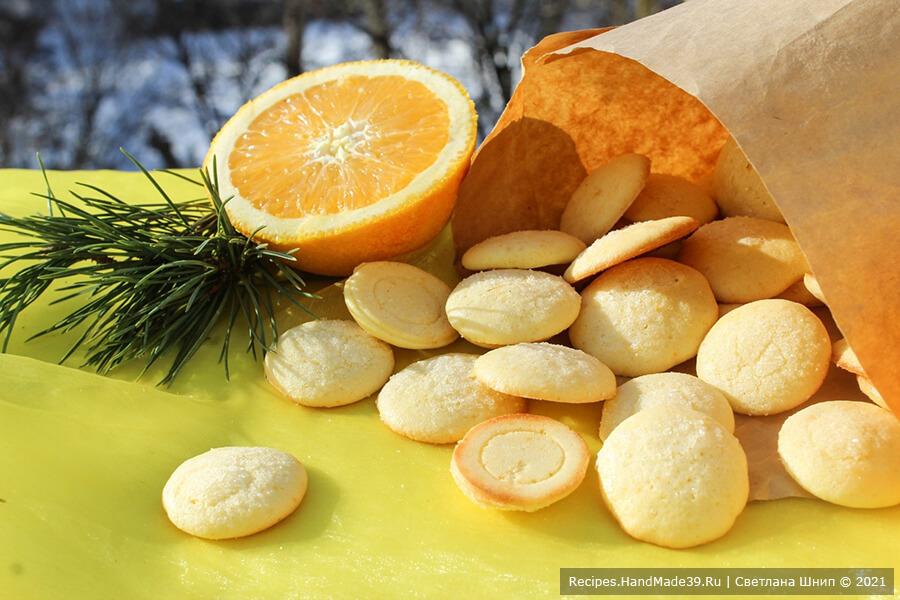 Печенье «Ленинградское» – фото шаг 8. Готовое печенье достать из духовки и остудить. Приятного аппетита!
