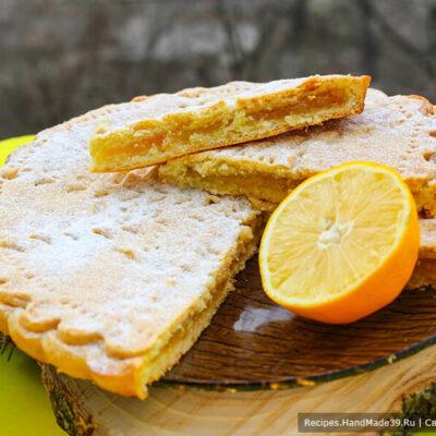 Лимонный пирог – пошаговый кулинарный рецепт с фото