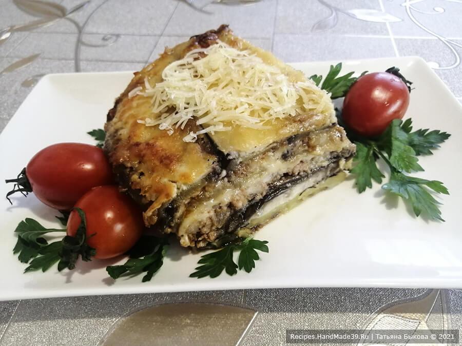 Мусака по-болгарски – фото шаг 13. Мусака не только отличный вариант для семейного обеда или ужина, но и вкусное блюдо для приёма гостей