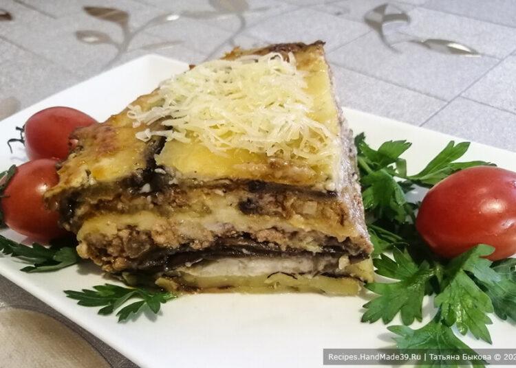 Мусака по-болгарски– пошаговый кулинарный рецепт с фото