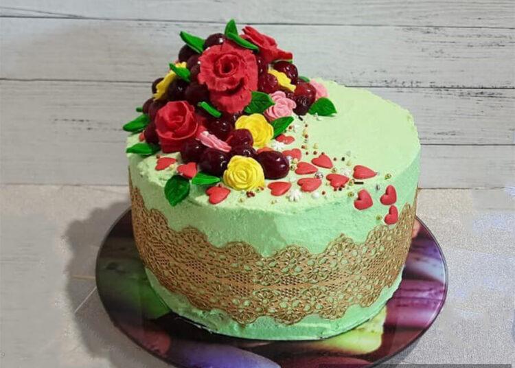 Ягодный торт с конфи – пошаговый кулинарный рецепт с фото