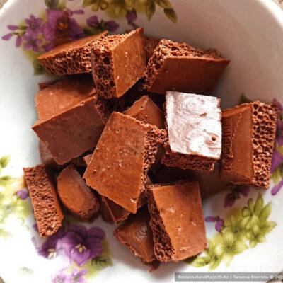 Торт «Трюфельный» – фото шаг 10. Приготовление шоколадного крема