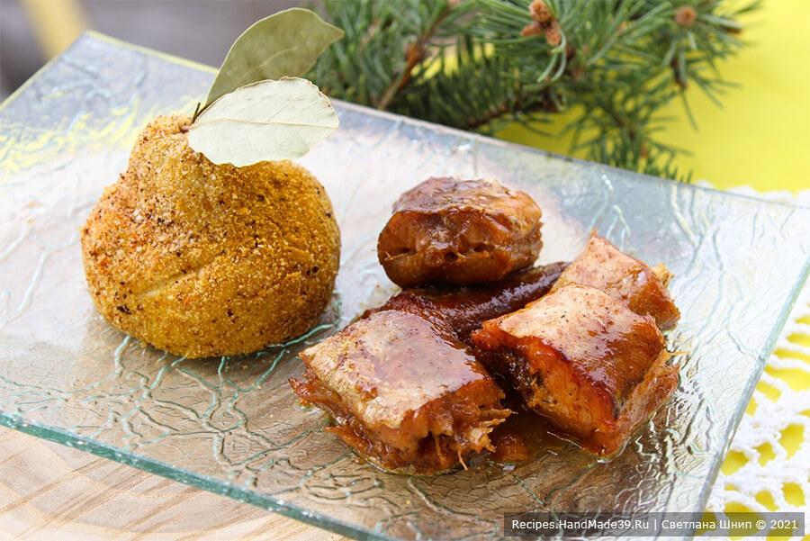 Запечённая рыба в медово-соевом маринаде по-китайски