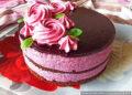 Шоколадный торт с черничным муссом – пошаговый кулинарный рецепт с фото