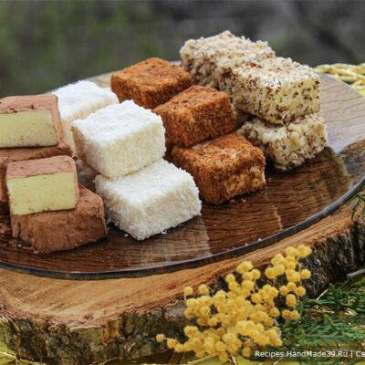 Конфеты «Птичье молоко» – пошаговый кулинарный рецепт с фото