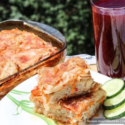 Запеканка «Ленивые голубцы» – пошаговый кулинарный рецепт с фото