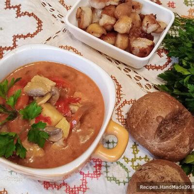 Жаренка со свининой – пошаговый кулинарный рецепт с фото