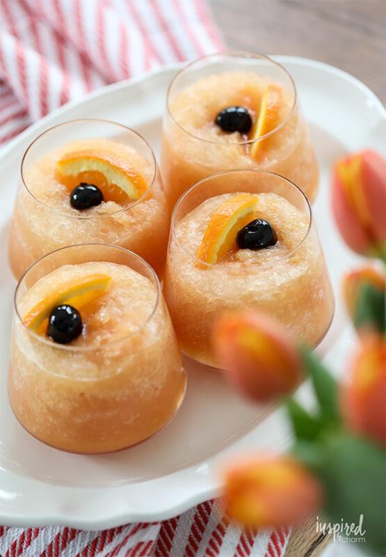 Ледяной коктейль с виски – фото шаг 10. По желанию добавить ломтик апельсина. Приятного аппетита!