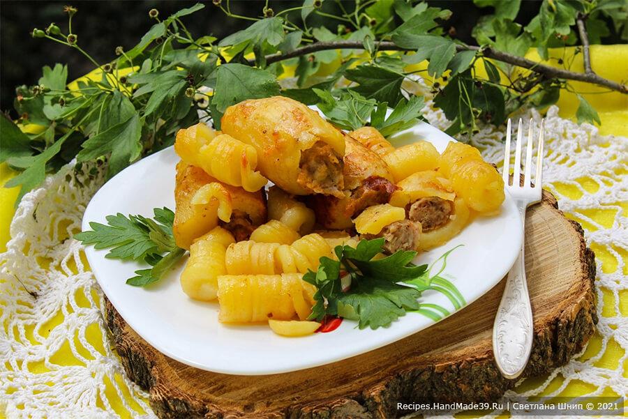 Фаршированный картофель в рукаве – вкусно и удобно