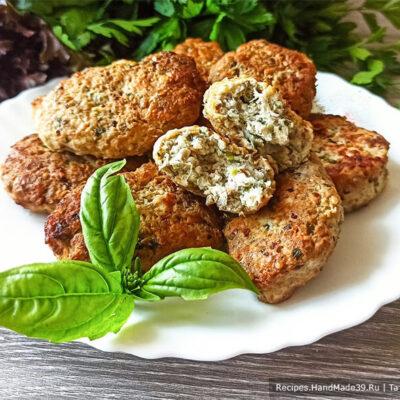 Котлеты с кабачками и баклажанами – пошаговый кулинарный рецепт с фото