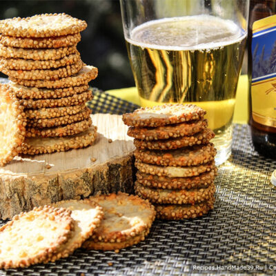 Печенье с горчицей и сыром – пошаговый кулинарный рецепт с фото