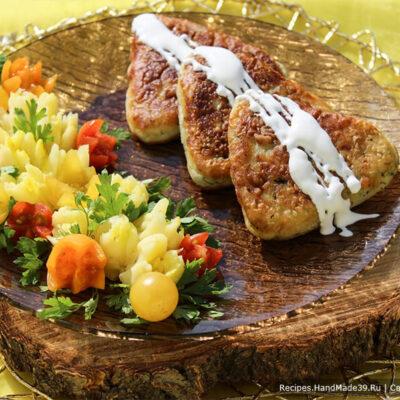 Котлеты из картофеля и кабачков – пошаговый кулинарный рецепт с фото