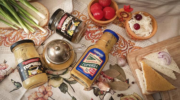 История горчицы
