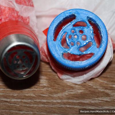 Заварной зефир – фото шаг 11. Насадки для форм из зефира